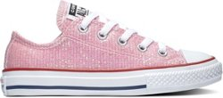 Girls' Chuck Taylor All Star Sparkle Low-Top Shoes