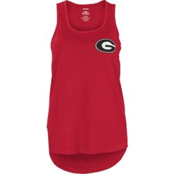 Women's University of Georgia Curly Sue Tank Top