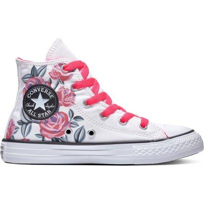e1aaf818e6c2 Converse Girls  Chuck Taylor All Star Hi-Top Shoes