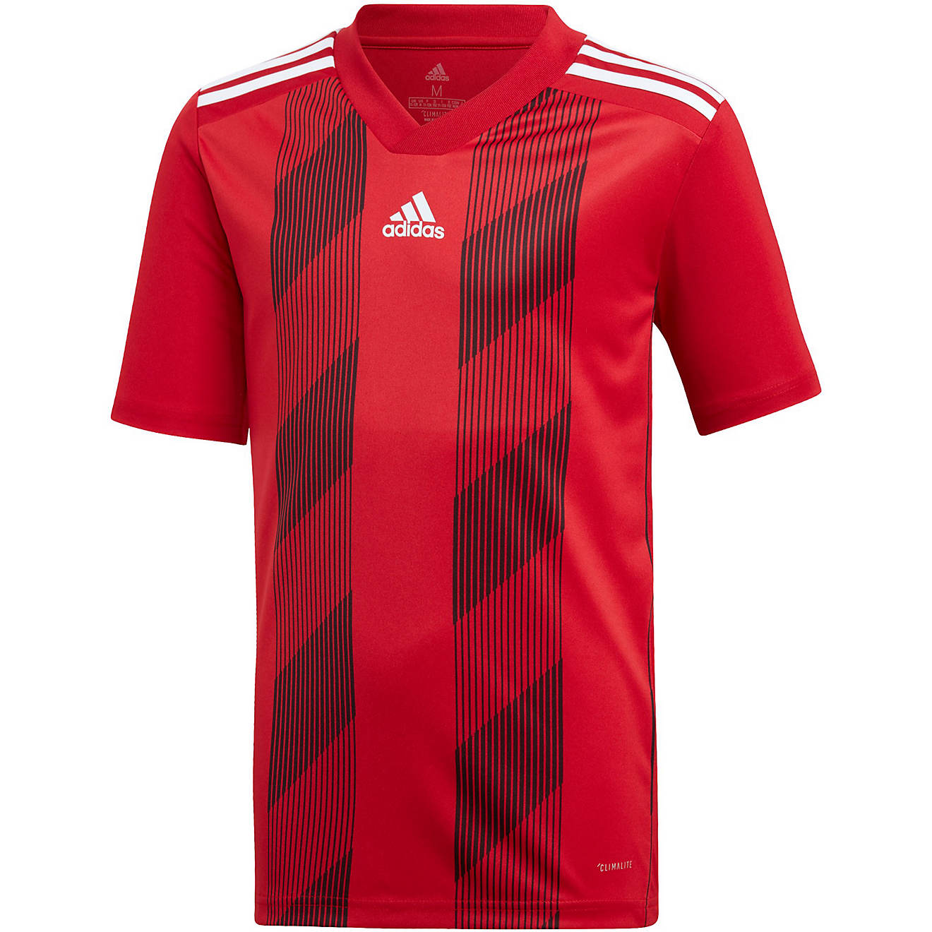 adidas Boys' Striped Soccer Jersey | Academy