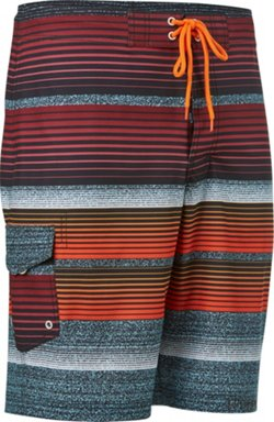 Men's Sunset Stripe True Boardshorts