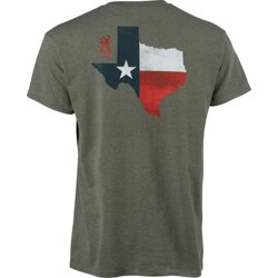 Men's Classic Texas Shaped Flag T-shirt