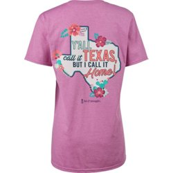 Women's Y'all Call It Texas Graphic T-shirt
