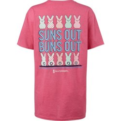 Women's Suns Out Buns Out Graphic T-shirt