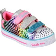 SKECHERS Kids' Twinkle Toes Twinkle Lite Sparkle Scales Shoes