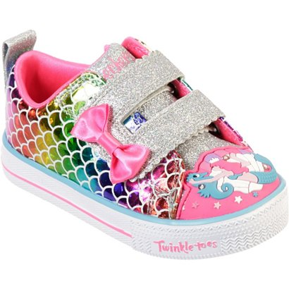 85b60b1760c6 Academy   SKECHERS Toddler Girls  Twinkle Toes Shuffle Lite Mermaid Parade  Shoes. Academy. Hover Click to enlarge