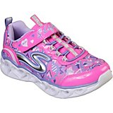 SKECHERS Girls' S Lights Heart Lights Shoes