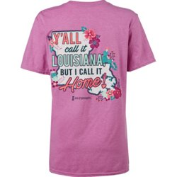 Women's Y'all Call It Louisiana Graphic T-shirt