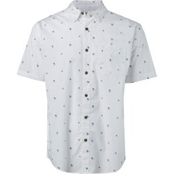 Men's Summerville Print Button Down Shirt