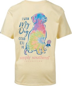 Girls' I Wish My Dog Could Text Me T-shirt