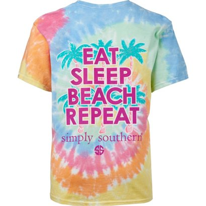 b654dd8e8831a ... Simply Southern Girls' Beach Repeat Tie Dye T-shirt. Girls' Shirts &  Tops. Hover/Click to enlarge
