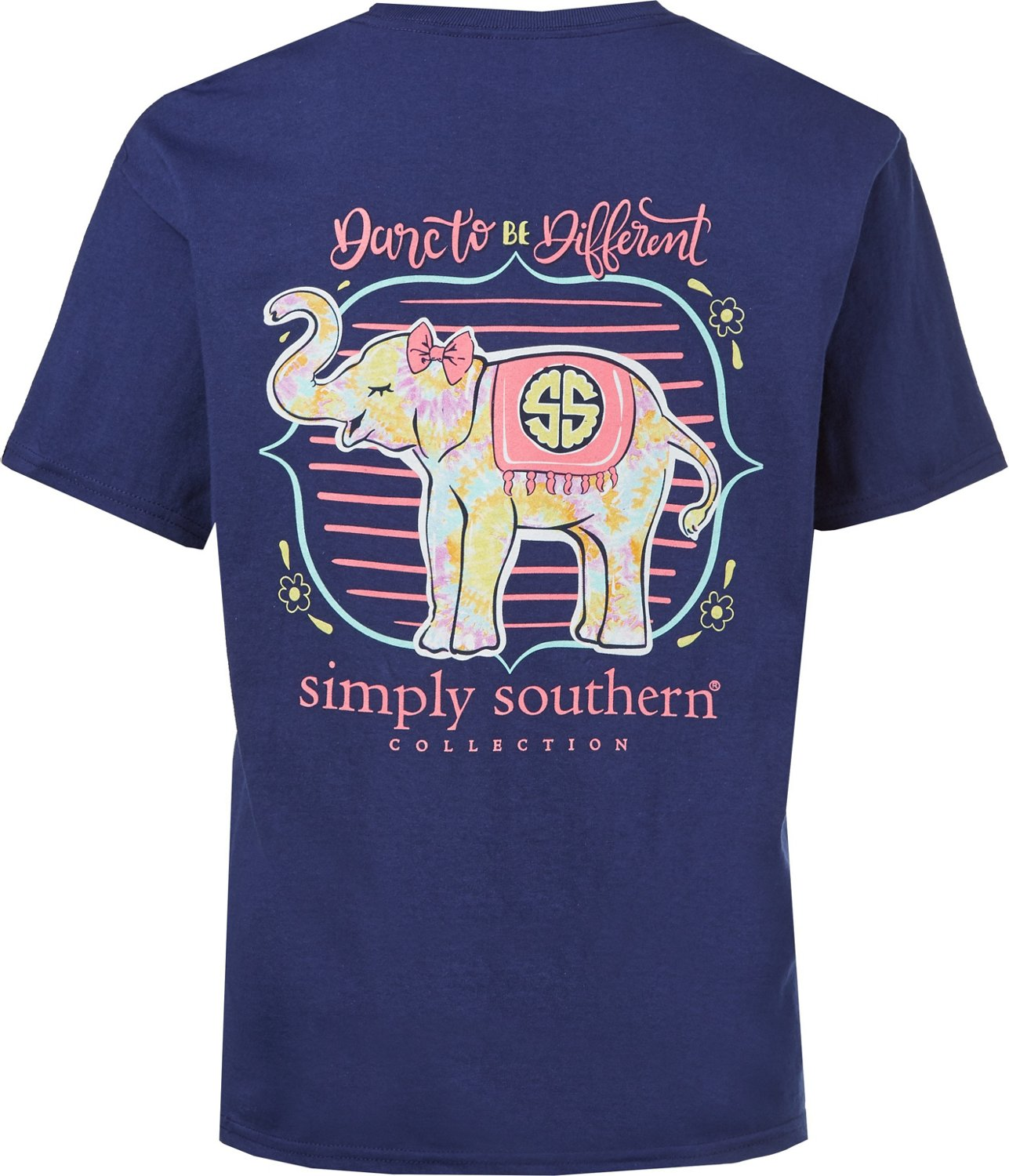 728a47ad05052 Simply Southern Girls  Elephant T-shirt