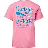 Simply Southern Girls' Swing for the Fences T-shirt