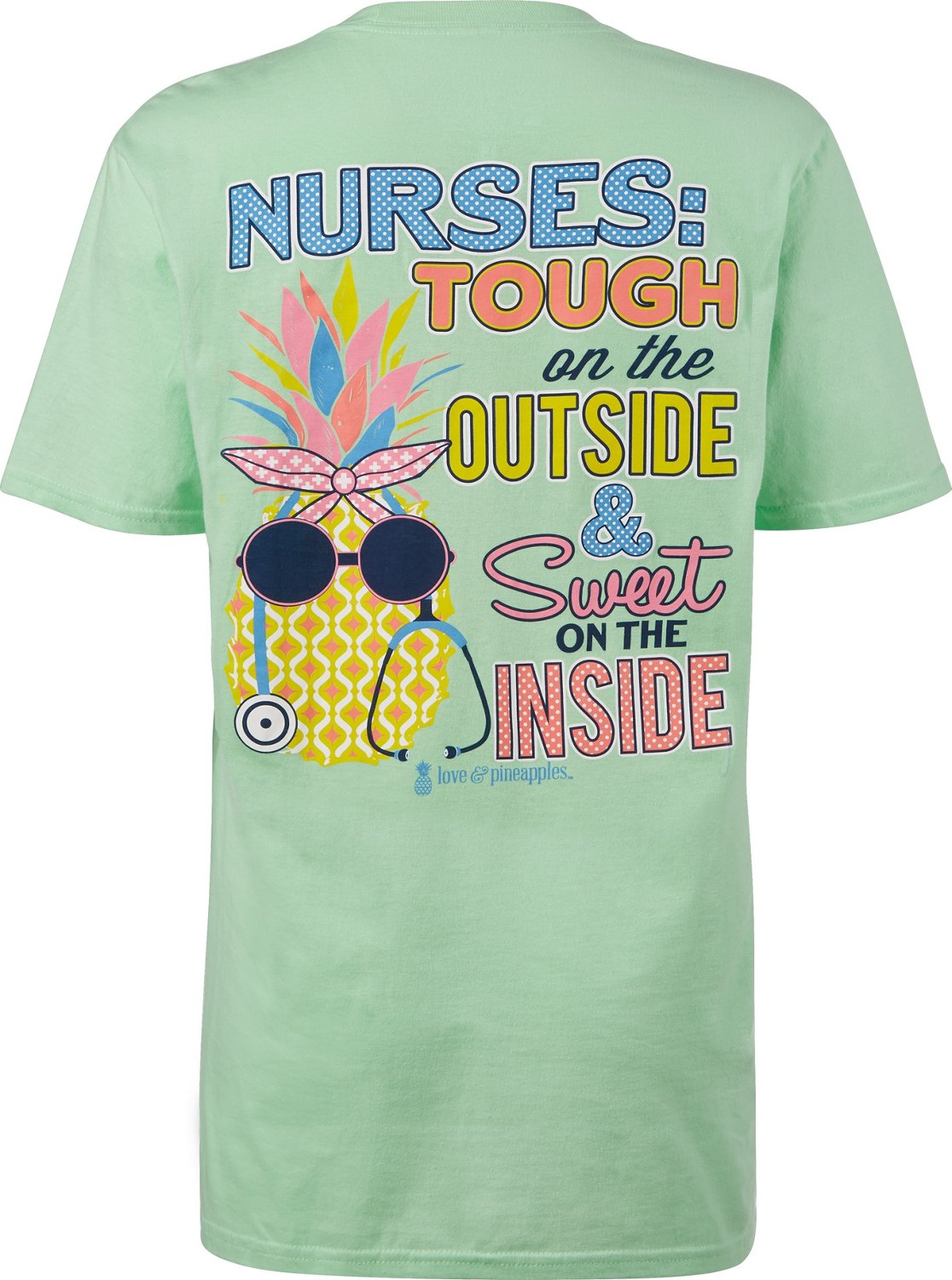 bbb64e9c4cf6d Display product reviews for Love & Pineapples Women's Nurses Tough & Sweet  Short Sleeve ...