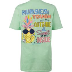 Women's Nurses Tough & Sweet Short Sleeve T-shirt
