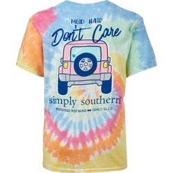 Girls' Mud Tie Dye T-shirt