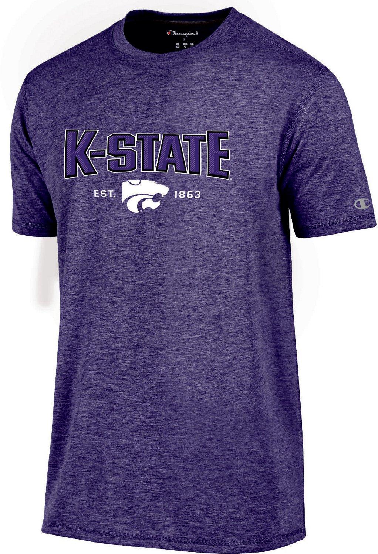 Champion Men s Kansas State University Touchback T-shirt  eda039d79965
