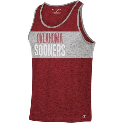 7730f53dc28d Champion Men s University of Oklahoma In the Paint Tank Top
