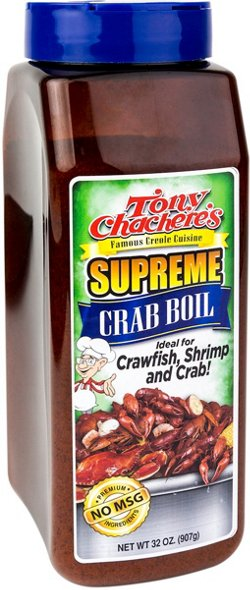 32 oz Supreme Crawfish and Crab Boil Seasoning