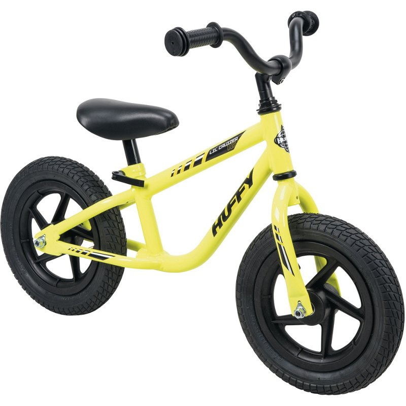 Huffy Lil Cruizer Balance Bike Yellow - Boy's Bikes at Academy Sports