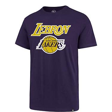 '47 Los Angeles Lakers LeBron James MVP Super Rival T-shirt