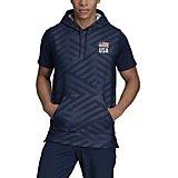 5056e039a adidas Men's USA Volleyball Sleeveless Hoodie
