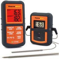 ThermoPro TP-08S Remote Food Thermometer with Dual Probe
