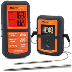 TP-08S Remote Food Thermometer with Dual Probe