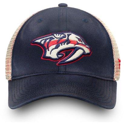9d9e8d86 ... Men's Americana Adjustable Trucker Cap. Nashville Predators Hats.  Hover/Click to enlarge