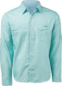 Men's Tide Point Woven Plaid Long Sleeve Shirt