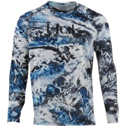 Men's Pursuit Camo Vented Long Sleeve T-shirt