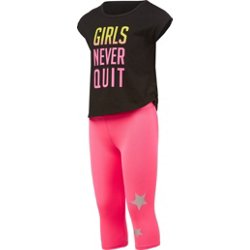 Girls' 2 Piece Capri Set