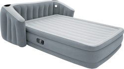 FullSleep Wingback Queen-Size Airbed with Pump