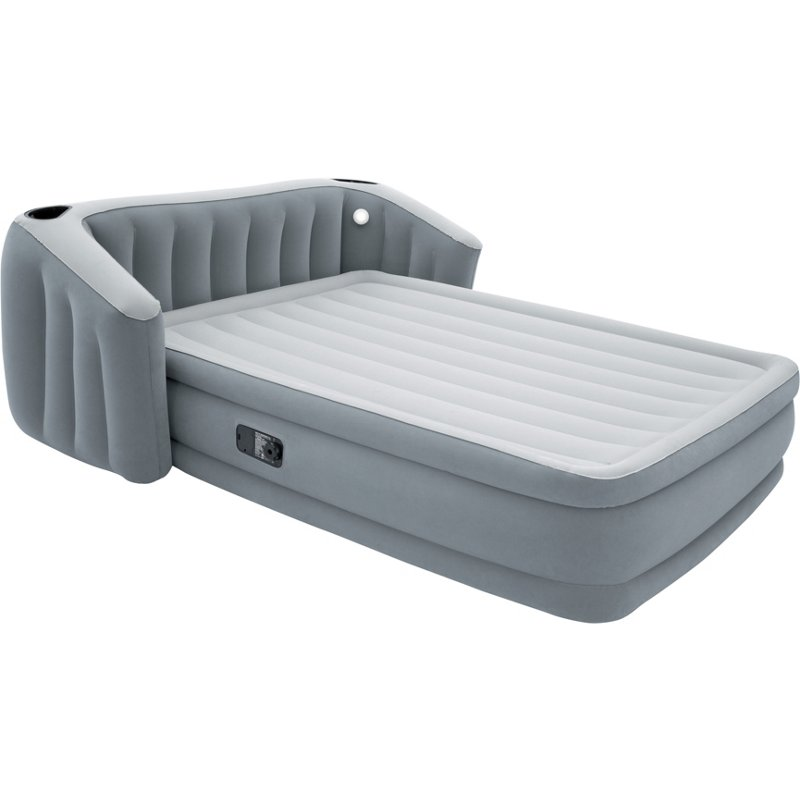 Bestway FullSleep Wingback Queen-Size Airbed with Pump Gray, Queen Mattress - Air Mattress/Accessories at Academy Sports -  15697
