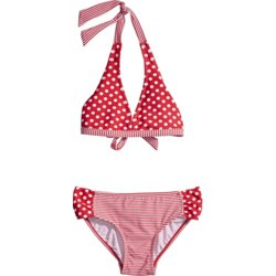 Girls' Sailor Stripe 2-Piece Swimsuit