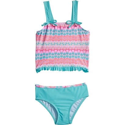 a3997519a7 ... O'Rageous Toddler Girls' Hearts Galore 2-Piece Tankini. Girls' Two-Piece  Swimsuits. Hover/Click to enlarge