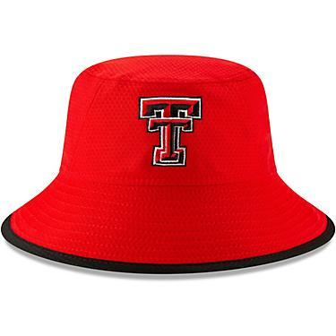 fca5d5fd New Era Men's Texas Tech University Hex Team Bucket Cap