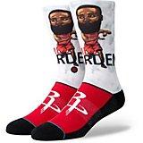 64651f8994ae Kids  Houston Rockets Harden Big Head Crew Socks