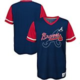 5448cd8ea6bc Boys  Atlanta Braves Play Hard Jersey T-shirt