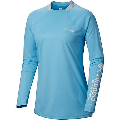 43edda71b Columbia Sportswear Women's PFG Tidal Deflector Zero Long Sleeve T-shirt -  view number 2. Hover/Click to enlarge