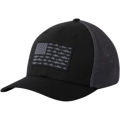 Columbia Sportswear Men s PFG Mesh Fish Flag Ball Cap  a54722e0888