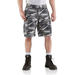 Men's Rugged Cargo Camo Shorts
