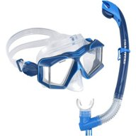 U.S. Divers Adults' Sideview LX and Astros LX Snorkel Combo