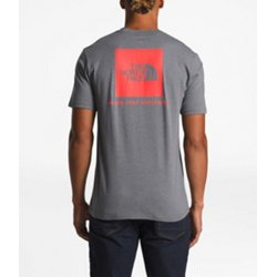 Men's Red Box Short Sleeve T-shirt