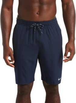 Men's Logo Splice Pacer Swim Volley Shorts