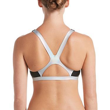 88beb4145b615 Nike Women's Flash Bonded Fastback Swim Top