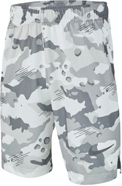 Boys' Dri-FIT Camo Training Shorts 8 in