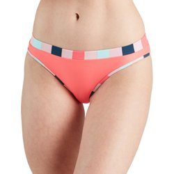 Juniors' Zanzibar Stripe Hipster Swim Bottom
