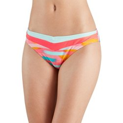 Juniors' Ikat Classic Hipster Swim Bottoms