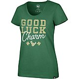 9c82ae66908 Houston Texans Women s St. Patty s Day Good Luck Charm Club Scoop T-shirt.  Clearance